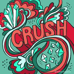 Esther Loopstra illustration. Crush