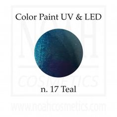Color Paint uv gel n.17 Teal