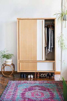 very cool closet