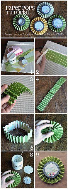 Paper pops tutorial