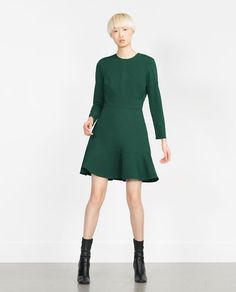 Image 1 of SKATER DRESS from Zara