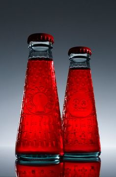 Red: Red bottles ~ Campari soda Years bottle, by Fortunato Depero and Matteo Ragni. Campari And Soda, Josie Loves, I See Red, Simply Red, Red Rooms, Red Aesthetic, Red And Grey, Gray, Shades Of Red