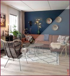 57 lovely and unordinary bohemian living room decor ideas and furniture 1 Teal Living Rooms, Bohemian Living Rooms, Home Living, Living Room Sofa, Interior Design Living Room, Living Room Designs, Living Room Decor, Bohemian Decor, The Loft