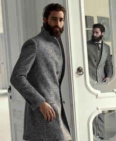 that coat // #topcoat #menswear #winterstyle