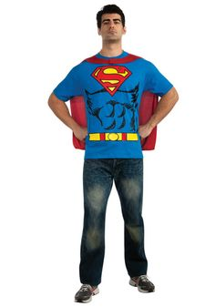 Superman Costume T-Shirt #Halloween #Ideas
