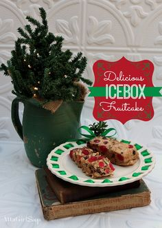 Christmas Icebox Fruit Cake