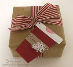 Gift Tag by LorriHeiling - Cards and Paper Crafts at Splitcoaststampers