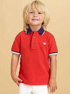Armani Junior Toddler's  Little Boy's Polo Shirt