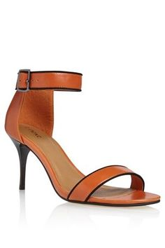 Piped Detail Sandals