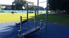 Wentworth Park in Ultimo where we teach bodyweight strength training. Personal Training and classes available. Easily accessible from Central Train Station. Beginner Calisthenics, Parks In Sydney, Bodyweight Strength Training, My Gym, Train Station, Body Weight, Wind Turbine, Teaching, Teaching Manners