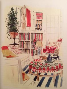 ... a book published two years ago, called The Perfectly Imperfect Home - How to Decorate & Live Well by Deborah Needleman, illustrated by Virginia Johnson?