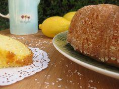 O Bolinho de Sábado: Bolo de Iogurte; Limão & Coco