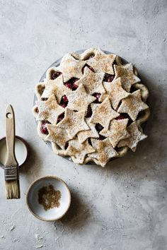 Spiced Bourbon Cherry Pie from The Bojon Gourmet Tart Recipes, Sweet Recipes, Baking Recipes, Dessert Recipes, Gluten Free Desserts, Just Desserts, Delicious Desserts, Yummy Food, Delicious Cookies