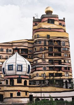 Architecture - Hundertwasser THE FOREST SPIRAL OF DARMSTADT
