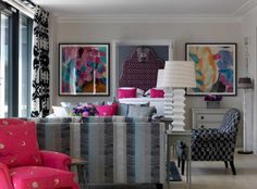 Bookend Indigo HamYard Hotels Firmdale Hotels → Christopher Farr Cloth