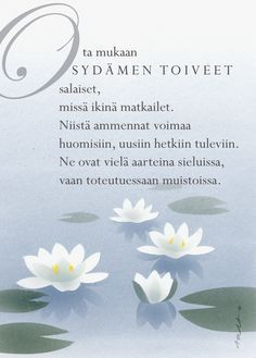 Finnish Words, Wednesday Humor, Powerful Words, Positive Vibes, Wise Words, Life Is Good, Texts, Poems, Positivity