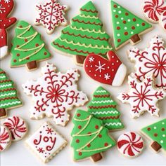 Christmas.Tree Cookies