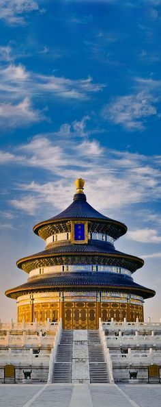 The Temple of Heaven in Beijing, China.
