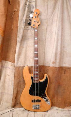 1978 Fender Jazz Bass Vintage Natural   eBay
