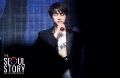 """hush..........shut up"" 김석진"