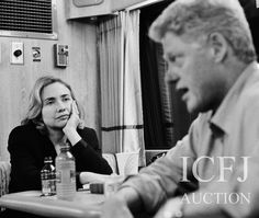 "Shooting for Newsweek, David Hume Kennerly captures the exhaustion that stalks presidential election campaigns by focusing on the candidate's wife. On the campaign bus during Bill Clinton's 1996 bid for a second term, Hillary Rodham Clinton sits with heavy eyelids, tired shoulders and chin in hand.     ""Hillary definitely has the look of someone who has heard that story a few times,"" Kennerly said.  Click to read more."