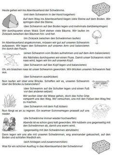 land # of the # kindergarten # Velcro # sponges - Kinderspiele Exercise For Kids, Kids Sports, Homeschool, Activities, Adventure, Kaito, Spongebob, Yoga Pants, Muffins