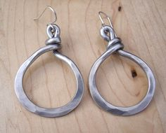 Simple Loop Hoop Earrings  Light Weight  by nicholasandfelice, $16.00 >> Oh, these would go with every outfit!