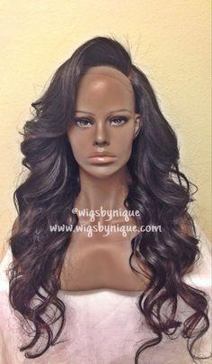 "Added layers! 14"" lace closure + 16/20/24/24/26"" Brazilian Wavy virgin hair"