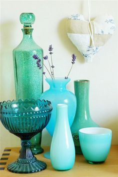 display glassware collection