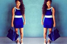 Feeling the Monday Blues get the dress at ZurikGirl   Dress: ZG AquaBlue Dress Price: $25  http://zurikgirl.com/dresses/solids/aqua-blue-dress