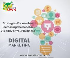 Take your digital presence to the next level with Aussie's Own. S Mo, Digital Marketing Services, Design Development, Content Marketing, Business, Store, Inbound Marketing, Business Illustration