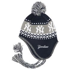 New York Yankees Abomination Sherpa Knit Cap Yankees Outfit caf53523495c