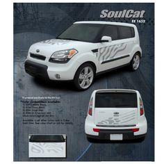 Kia Soul Soulcat Graphic Kit Gloss. Want this sooo bad!!