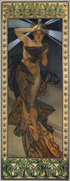 A. Mucha - L'Étoile du Matin