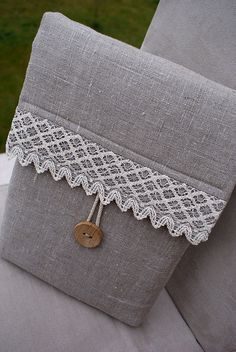 Sleeve from linen... by SandraStJu, via Flickr