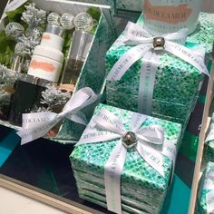 Jane Means Gift Wrapping for Creme de la Mer