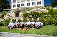 The freshest ingredients. The coolest team! Il Salviatino Luxury Hotel Florence