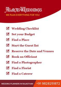 We Provides Various Wedding Planning Services Like Theme Based Weddings Entertainment Fl