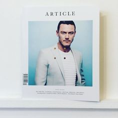 The always impressive & beautifully packaged @TheArticleMag has expanded #mens #fashion #lifestyle #art #british #culture #lukeevans #alicemadethis #cecilbeaton #eyewear #martinparr #oliverspencer #poirot #polanski #polo #tatemodern