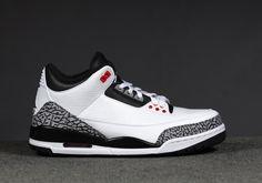 Air Jordan 3 Retro Air Jordan 3, Air Jordan Shoes, Cheap Air, Jordans Sneakers, Retro, Fashion, Moda, Fashion Styles, Retro Illustration