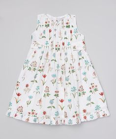Look at this Farm Veena Pleated Dress - Toddler & Girls on #zulily today!