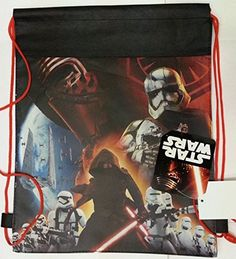 Star Wars EP7 Non Woven Sling Bag/Party Bag with Hangtag x 3 @ niftywarehouse.com #NiftyWarehouse #Geek #Products #StarWars #Movies #Film