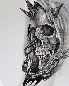 James Smith, Bikini Models, Blackwork, Tattoos, Drawings, Artwork, Sketch Drawing, Tattoo Art, Skulls