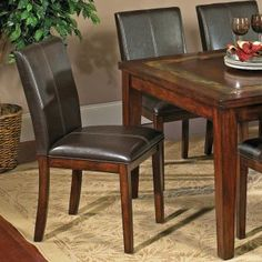 Steve Silver Davenport Parsons Chairs - Set of 2