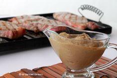 Entrecot con salsa de castañas y boletus - El Tercer Brazo