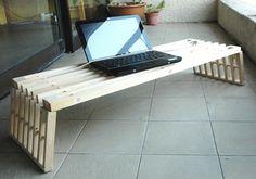 IKEA Hackers: The zen of laptop desks