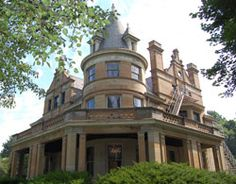 The Herschede mansion located at 3886 Reading Road in the