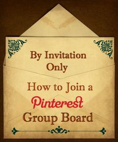 8 Top Tips for Joining Group Pinterest Boards!  http://www.wonderoftech.com/how-to-join-group-pinterest-boards/  #Pinterest #tips