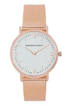 Vuelta a la oficina: Reloj de @elephantcastlew en los #must de la revista @voguespain para conquistar la ofi!!