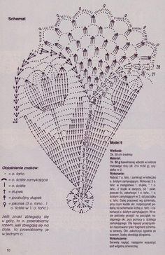 Image result for crochet tulips doily diagram
